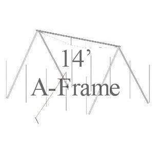 14' A-Frame