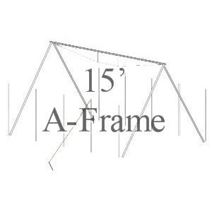 15' A-Frame