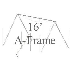 16' A-Frame