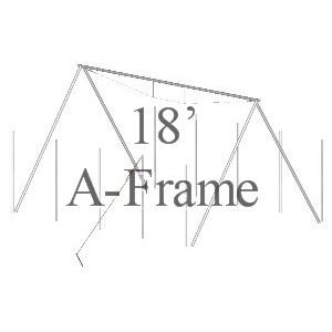 18' A-Frame