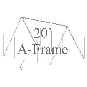20' A-Frame