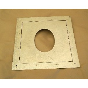 Sheet Metal Wall Plate